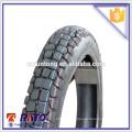 Produtos quentes 3.00-18 peças de corpo de moto roda de borracha de motocicleta