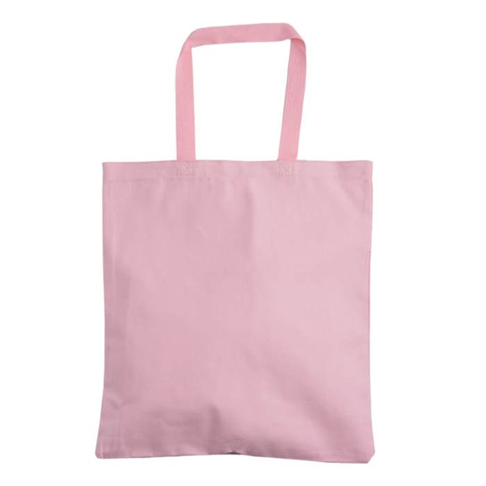 Trendy summer pink handbag canvas bag
