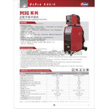 Pulse Mig Series inversor DC máquina de soldadura digital