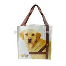 New products handmade custom printed non woven shopping bag supermarket