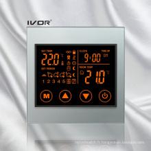 Thermomètre chauffant programmable pour thermocouple Cadre tactile à contact tactile (SK-HV100L8-L / MW)