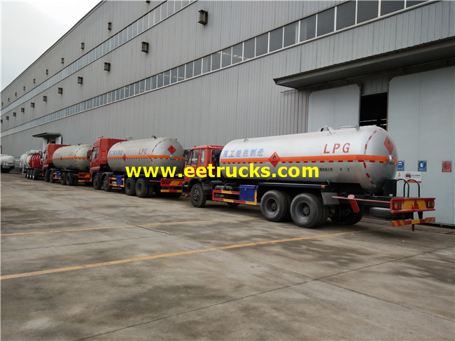 LPG Delivery Tanker Trucks