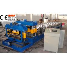 Farbige Stahl glasierte Dachziegel-kalte Rolle, die Maschine bildet