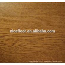 Plancher bois multicouches en bois massif à trois couches