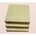Panneaux de plâtre en plastique en plastique composite en bois