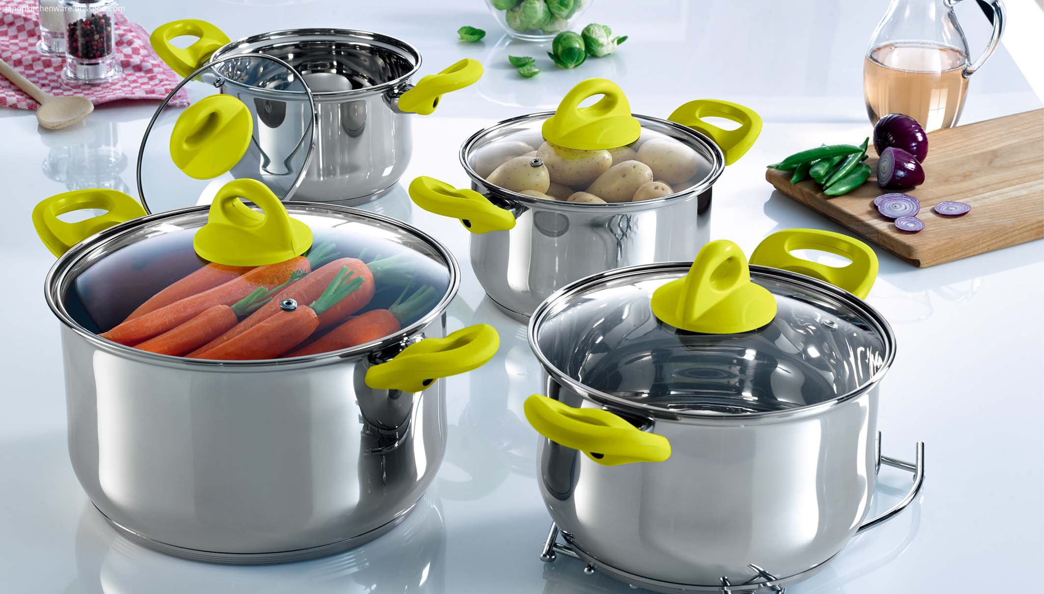 Saucepot 8pcs cookware set