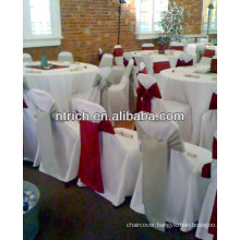 Fashionable design polyester Chair Covers for wedding/banquet