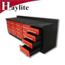 Caja de herramientas grande resistente del gabinete de herramienta del banco de trabajo para la venta