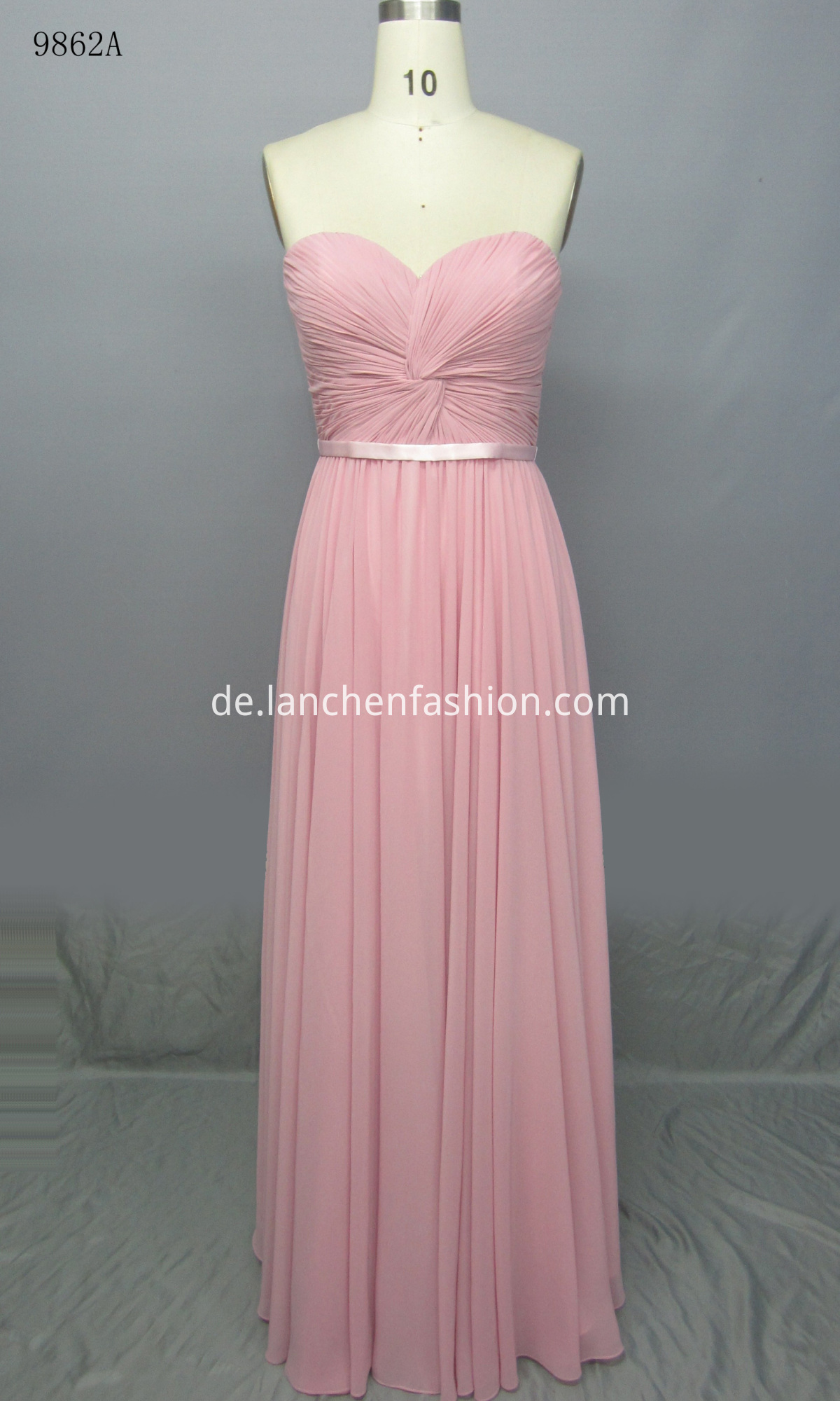 Lace Decoration Maxi Dress