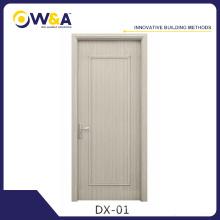 (DX-01) China Fábrica de diseño y venta Buena WPC barato puertas