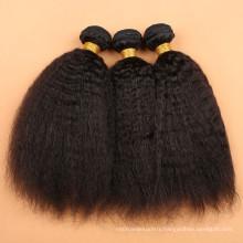 virgin brazilian natural kinky straight human hair extensions brazilian hairs extensiones de cabello afro rizado