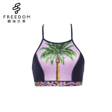 Customized indian xxx images bf hot sexy photo lady underwear stylish high neck racerback top bralette