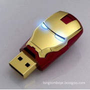 2013 China newest Iron man usb flash drive 2g 4g 8g 16gb