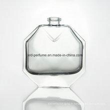 Bouteille en verre de parfum de 60ml avec la haute technologie