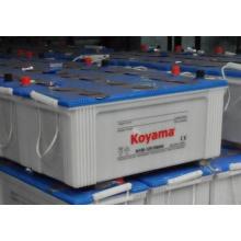 Batería de carga seca N150 sellada Mentenance gratis JIS 12V150ah