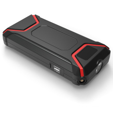 Emergency tool multi-function battery portable 12v car jump starter with LCD screen
