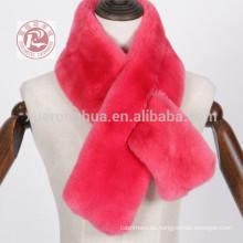 bufanda de piel de conejo de castor para mujer