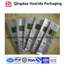 Back Sealed Custom Printed Coffee Packaging Sachet, Plastic Coffee Bag