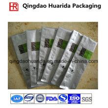Back Sealed Custom Printed Coffee Packaging Sachet, Plastic Coffee Bag