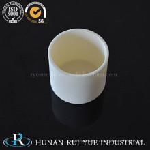 Высокое качество Al203 глинозем керамический тигель