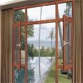Aluminium Casement Windows With Diamond Mesh