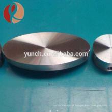 Baoji Manufacturers Baixo Preço Gr2 Pure Titanium Forging Disc / Bloco