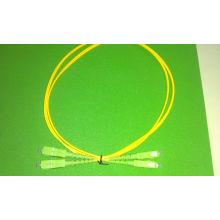 Cordon de raccordement fibre optique -Sc / APC Duplex 2.0mm