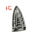 Aluminum Casting Parts Clothes Soleplate Iron with OEM