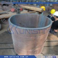 Tuyau résistant à l'usure en acier épais pour le dragage (USC-7-003)