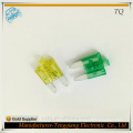 Zinc Alloy PC Material Mini Blade fuse for VW with LED