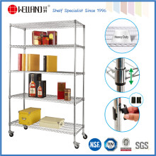 5 Tiers Storage Rack Commercial Grade, Metal Racks Shelving