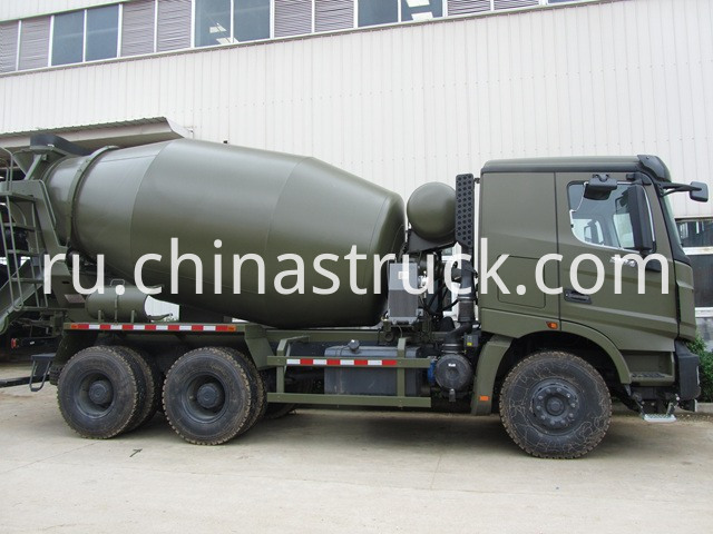 Benz Concrete Mixer Truck