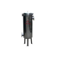 Boîtier de filtre à sac à panier liquide en acier inoxydable 304