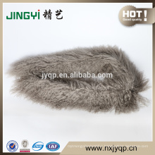 Beautiful Tibetan Curly Lamb Fur Scarf