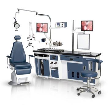 Unidad Ent con Monitor Micro Scope Doctor Taburetes para Opción
