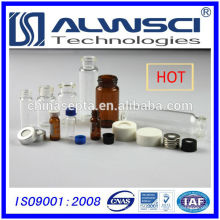 Fertigung 24-400 Schraubglas-Aufbewahrungsfläschchen mit Kappen