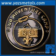 personnalisez la médaille de metal rétro pour les prix