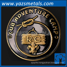 customize metal retro club coin for awards