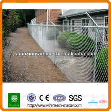 Galvanized&PVC Chain Link Fence