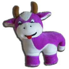 ICTI Audited Factory juguete de peluche de vaca púrpura