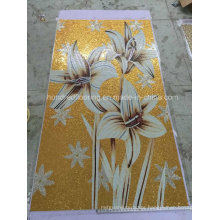 Gold Mosaic Decoration, Art Mosaic Pattern Wall Tile (HMP839)