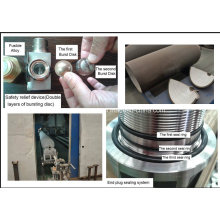 Китайский поставщик высококачественного СПГ-прицепного трейлера и каскады гигантского цилиндра