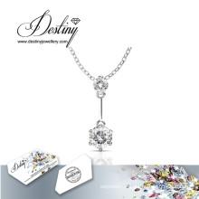 Destin bijoux cristal de Swarovski Jane joli pendentif & collier