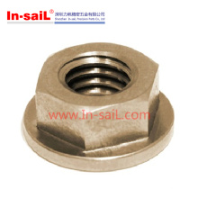 2016 Hot Sale Flange Hexgonal Nut Price in Shenzhen Manufaturer