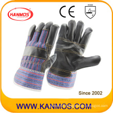The Dark Furniture Cowhide Leather Industrial Work Safety Gloves (310021)