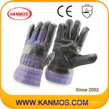 Защитные перчатки из темной кожи натуральной кожи (310021)