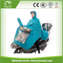 Waterproof Fashionable Adult Green Polyester Poncho
