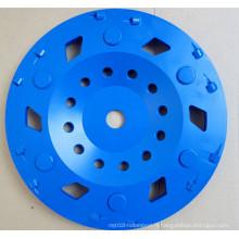 Outils de roue de meulage PCD Diamond Cup pour le retrait de revêtement
