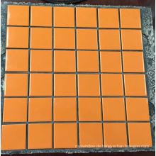 48 * 48mm Luxuriöse Glasoberfläche Wand- & Bodengrenze Mosaik