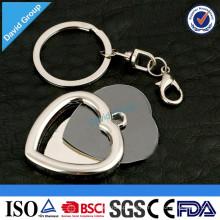 Chinesischer neuer Produkt-Lieferant Kundenspezifisches förderndes Metall Keychain